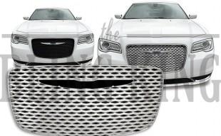 2015 2016 Chrysler 300 chrome mesh grille insert