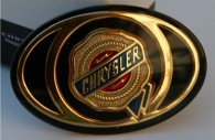 chrysler 300 chrome front grille emblem badge