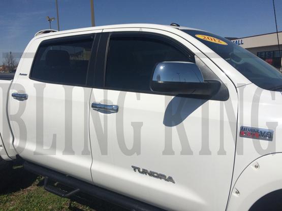 2007 2018 Toyota Tundra Chrome Door Handle Mirror Cover