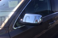 2016 suburban chrome mirror cover trim