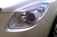 2012 buick enclave chrome headlight bezel cover trim