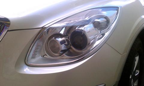 2010 Buick Enclave For Sale >> 08-2012 Buick Enclave Chrome Head Light Bezels