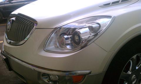 2008 Chrysler 300 For Sale >> 08-2012 Buick Enclave Chrome Head Light Bezels
