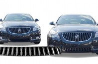 2013 buick regal chrome grille