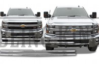 2015 2016 Chevy Silverado 2500 chrome grille