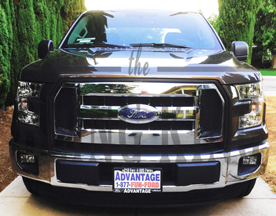 2016 2017 Ford F150 Chrome Grille Insert Overlay Trim Xl