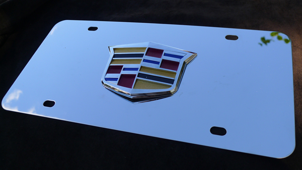 Enchanting Cadillac License Plate Frames Model - Picture Frame ...