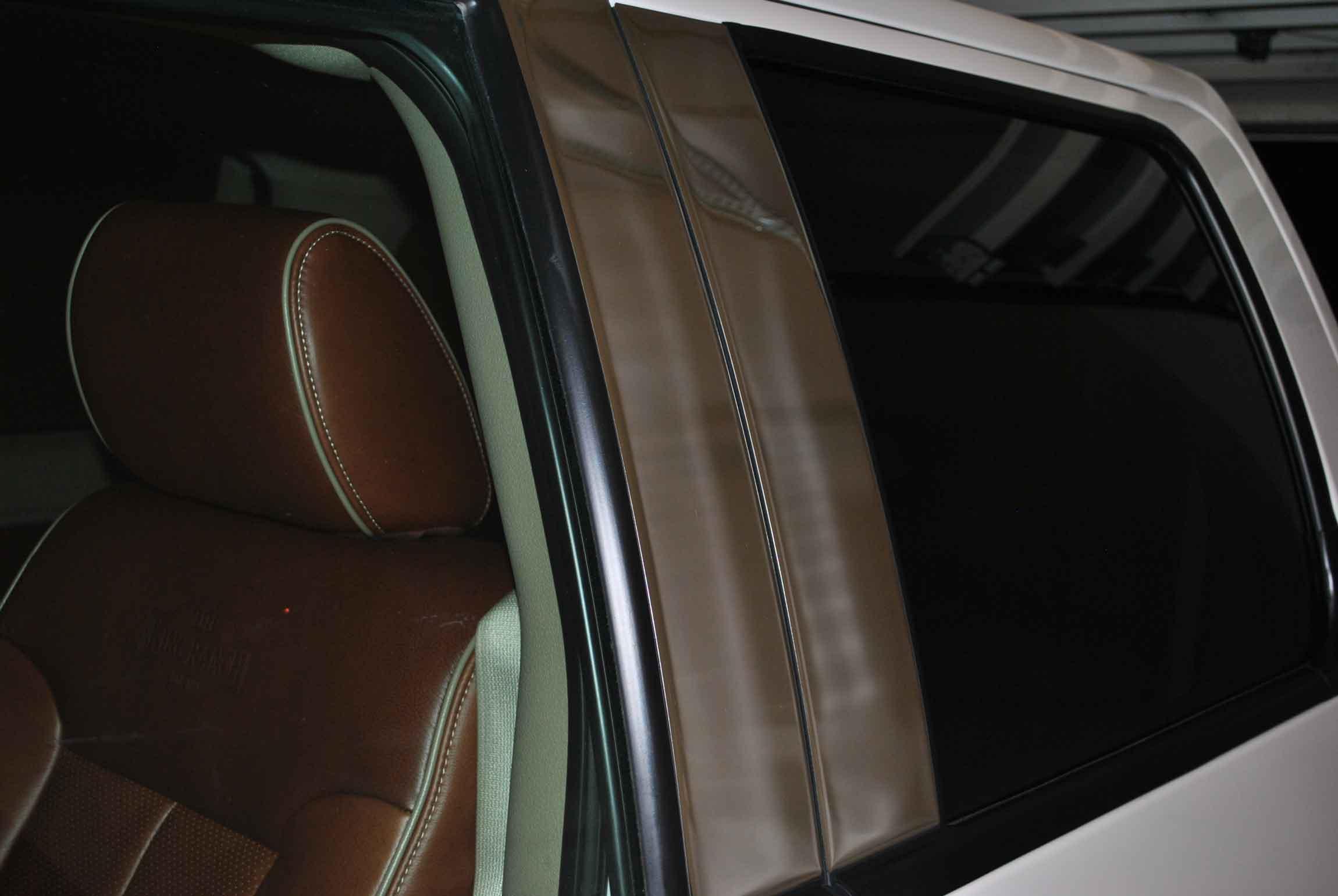 2009 2014 Ford F 150 Chrome Pillar Post Trim 4pc Super Crew