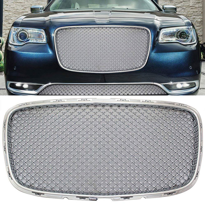2015-2018 Chrysler 300 Chrome Mesh Grille Bentley Grill