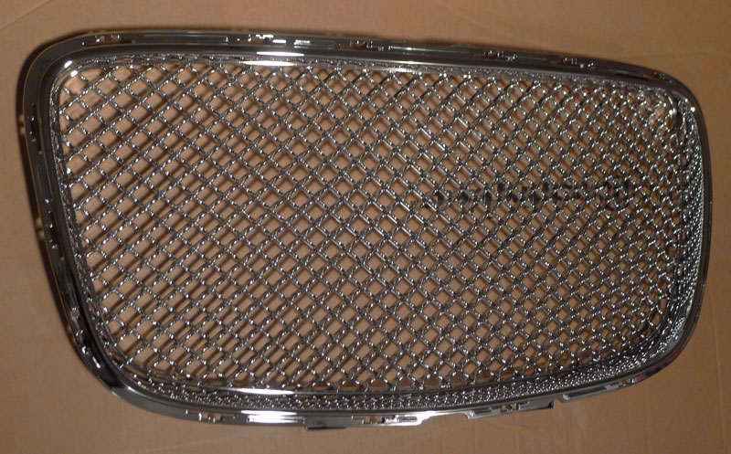 Chrysler Chrome Bentley Mesh Grille Grill Replacement Trim