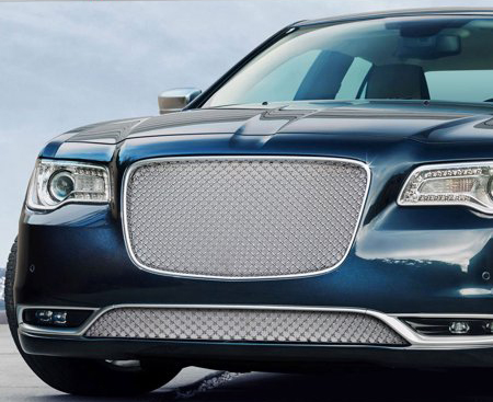 2015 2019 Chrysler 300 Chrome Mesh Grille Bentley Grill