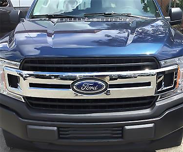 2018-2020 Ford F150 Chrome Grille Insert Overlay Trim XL