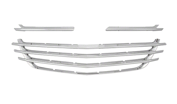 2018-2020 Chevy Equinox Chrome Grille Insert Overlay Trim